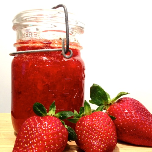 Fresh Strawberry Freezer Jam