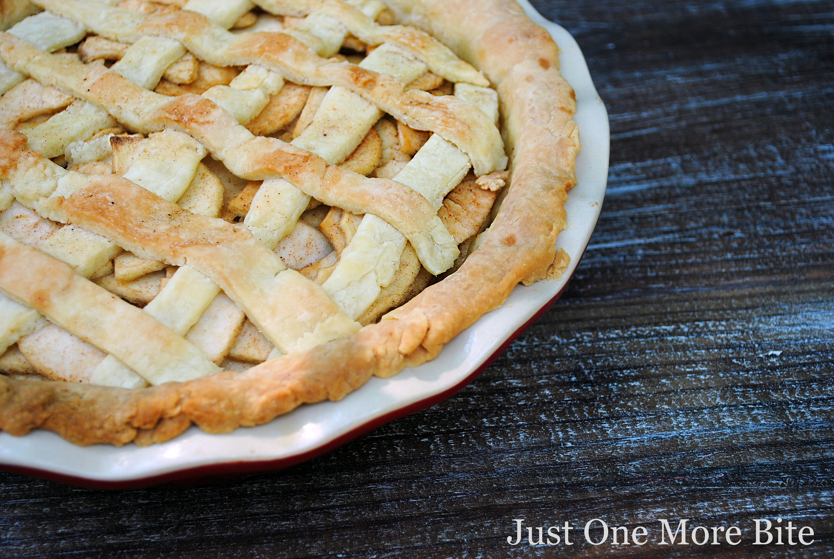 Gluten Free Double Butterscotch Apple Pie Recipe — Dishmaps